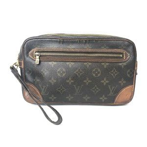 Louis Vuitton Monogram Maruridoragon'nu Clutch***
